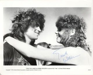 TREAT WILLIAMS - AUTOGRAPHED SIGNED PHOTOGRAPH