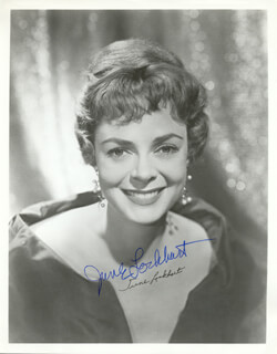 JUNE LOCKHART - AUTOGRAPHED SIGNED PHOTOGRAPH  - HFSID 211799