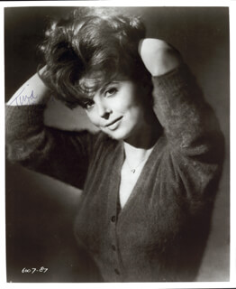 TINA LOUISE - AUTOGRAPHED SIGNED PHOTOGRAPH