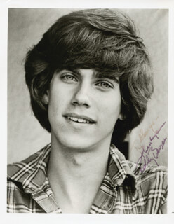 ROBBY BENSON - AUTOGRAPHED INSCRIBED PHOTOGRAPH