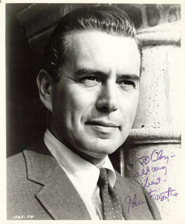 JOHN FORSYTHE - AUTOGRAPHED INSCRIBED PHOTOGRAPH