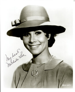 MICHELE LEE - AUTOGRAPHED SIGNED PHOTOGRAPH