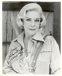 ALICE FAYE - AUTOGRAPHED INSCRIBED PHOTOGRAPH 1975