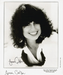 JESSI COLTER - PRINTED PHOTOGRAPH SIGNED IN INK