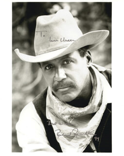 RICHARD ROUNDTREE - AUTOGRAPHED INSCRIBED PHOTOGRAPH 1994