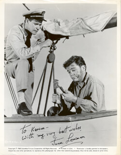 JACK LEMMON - AUTOGRAPHED INSCRIBED PHOTOGRAPH