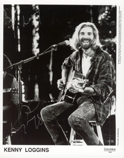 KENNY LOGGINS - AUTOGRAPHED SIGNED PHOTOGRAPH