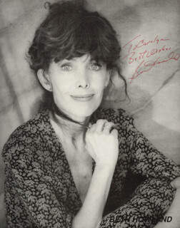 BETH HOWLAND - AUTOGRAPHED INSCRIBED PHOTOGRAPH