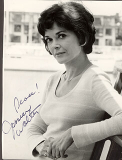 JESSICA WALTER - AUTOGRAPHED SIGNED PHOTOGRAPH