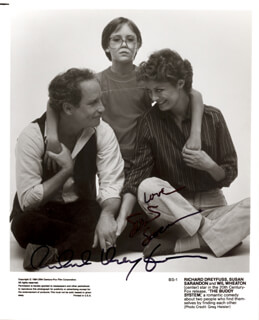 THE BUDDY BUDDY MOVIE CAST - AUTOGRAPHED SIGNED PHOTOGRAPH CO-SIGNED BY: SUSAN SARANDON, RICHARD DREYFUSS