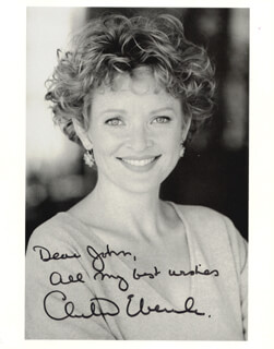 CHRISTINE EBERSOLE - AUTOGRAPHED INSCRIBED PHOTOGRAPH