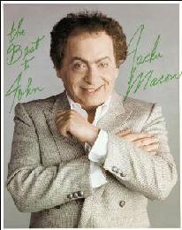 JACKIE MASON - AUTOGRAPHED INSCRIBED PHOTOGRAPH
