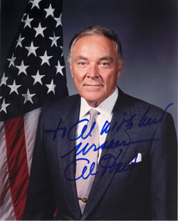 Autographs: GENERAL ALEXANDER M. HAIG JR. - INSCRIBED PHOTOGRAPH SIGNED