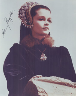 GENEVIEVE BUJOLD - AUTOGRAPHED SIGNED PHOTOGRAPH