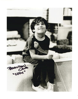 BRANDON CRUZ - AUTOGRAPHED SIGNED PHOTOGRAPH