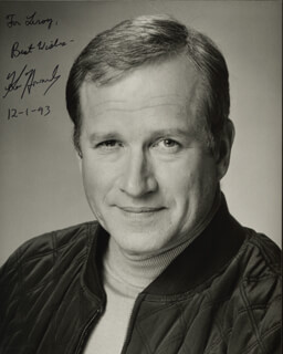 KEN HOWARD - AUTOGRAPHED INSCRIBED PHOTOGRAPH 12/01/1993