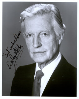 WESLEY ADDY - AUTOGRAPHED INSCRIBED PHOTOGRAPH
