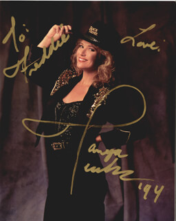 TANYA TUCKER - AUTOGRAPHED INSCRIBED PHOTOGRAPH 1994