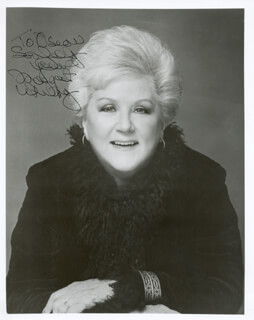 MARGARET WHITING - AUTOGRAPHED INSCRIBED PHOTOGRAPH