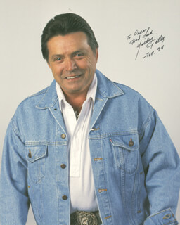 MICKEY GILLEY - AUTOGRAPHED SIGNED PHOTOGRAPH 2/1994
