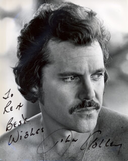 JOHN ASHLEY - AUTOGRAPHED INSCRIBED PHOTOGRAPH