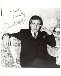 LALO SCHIFRIN - AUTOGRAPHED INSCRIBED PHOTOGRAPH