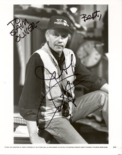 JOHN CARPENTER - AUTOGRAPHED INSCRIBED PHOTOGRAPH