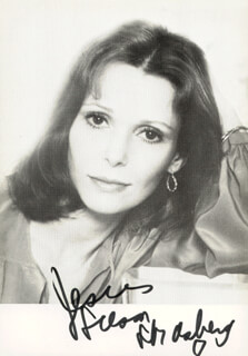 SUSAN STRASBERG - AUTOGRAPHED INSCRIBED PHOTOGRAPH