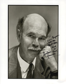 GRAHAM JARVIS - AUTOGRAPHED SIGNED PHOTOGRAPH