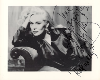 CATHY MORIARTY - AUTOGRAPHED INSCRIBED PHOTOGRAPH
