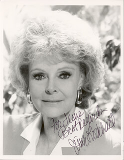JUNE LOCKHART - AUTOGRAPHED INSCRIBED PHOTOGRAPH  - HFSID 213882