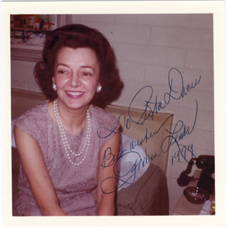 ANDREA LEEDS - AUTOGRAPHED INSCRIBED PHOTOGRAPH 1979