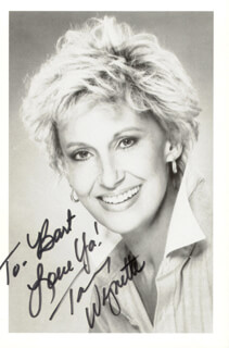 TAMMY WYNETTE - AUTOGRAPHED SIGNED PHOTOGRAPH