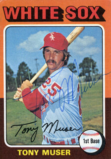 TONY MUSER - TRADING/SPORTS CARD SIGNED