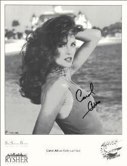 CAROL ALT - PRINTED PHOTOGRAPH SIGNED IN INK