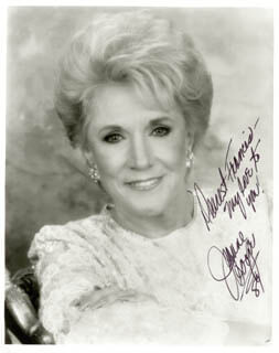 JEANNE COOPER - AUTOGRAPHED INSCRIBED PHOTOGRAPH 1989
