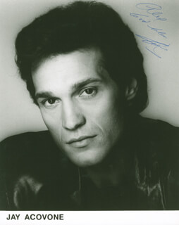 Autographs: JAY ACOVONE - PHOTOGRAPH SIGNED