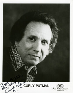 CURLY PUTMAN - AUTOGRAPHED INSCRIBED PHOTOGRAPH