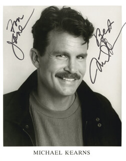 MICHAEL KEARNS - AUTOGRAPHED INSCRIBED PHOTOGRAPH