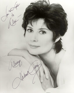 Autographs: DEBORAH ADAIR - INSCRIBED PHOTOGRAPH SIGNED