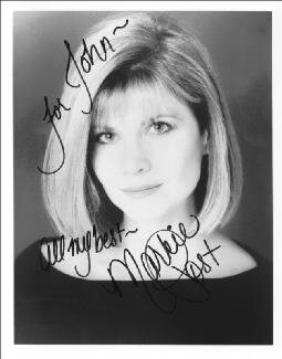 MARKIE POST - AUTOGRAPHED INSCRIBED PHOTOGRAPH