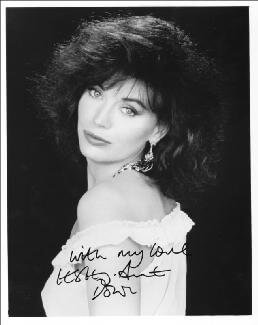 LESLEY-ANNE DOWN - AUTOGRAPHED SIGNED PHOTOGRAPH