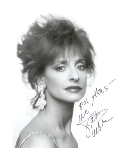 PATTI ANN LUPONE - AUTOGRAPHED INSCRIBED PHOTOGRAPH