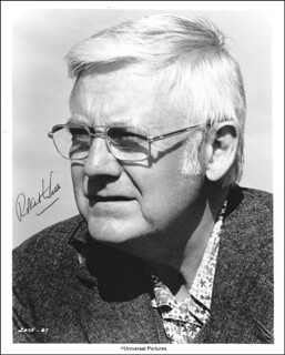 ROBERT WISE - AUTOGRAPHED SIGNED PHOTOGRAPH