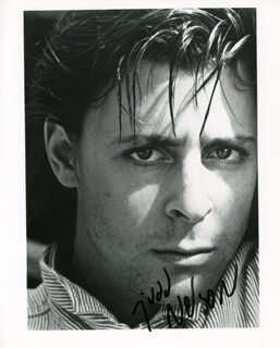JUDD NELSON - AUTOGRAPHED SIGNED PHOTOGRAPH