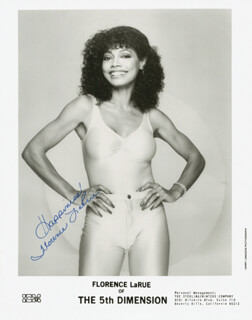 FLORENCE LARUE - AUTOGRAPHED SIGNED PHOTOGRAPH