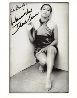 IRENE CARA - AUTOGRAPHED INSCRIBED PHOTOGRAPH