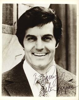 PETER LUPUS - AUTOGRAPHED INSCRIBED PHOTOGRAPH
