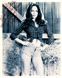 CATHERINE BACH - AUTOGRAPHED INSCRIBED PHOTOGRAPH