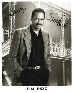 TIM REID - AUTOGRAPHED INSCRIBED PHOTOGRAPH  - HFSID 214425